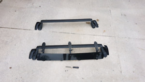 Subaru Impreza roof rack with fairing