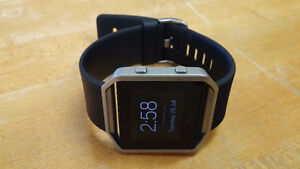 Fitbit Blaze - Basically new 1 month old