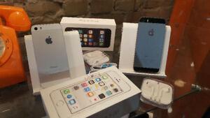 iphone 5s, débloqués, avec accessoires et garantie.