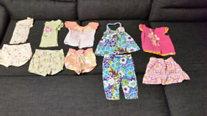 Toddler girls size 2T shorts outfits