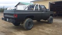 86 gmc truck parts truck or fix for road.
