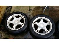 "4x16"" alloy wheels seat audi vw skoda 5x100"