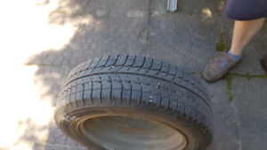 """Four new Michelin X-Ice Tires for sale on 15"""" rims"""