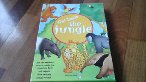 Get Inside the Jungle  Concertina Book colorful and fun