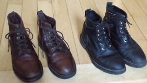 Paddock or (with chaps) riding boots - Black / Brown