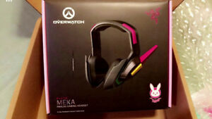 Razer D.Va Meka Headset - Exclusive Overwatch Edition