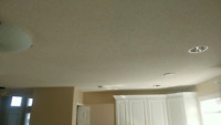 Ceiling Texture/ Drywall Finishing