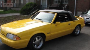 1993 Ford Mustang LX FEATURE CAR Convertible