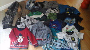 Boys 2T and 3T shirt, t-shirt, hoodie and sweater lot