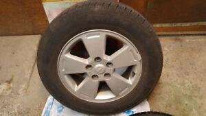Pirelli 4 Season Tires on alloy rims (16 inches)