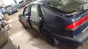 Parting out a 1997 saab 900
