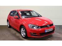 2014 Volkswagen Golf 1.6 TDI 105 Match 5dr HATCHBACK Diesel Manual