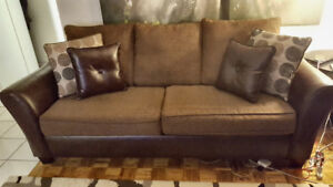 Sofa bed & loveseat sofa for sale