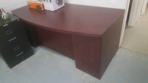 mahagony office table may go today moving sale