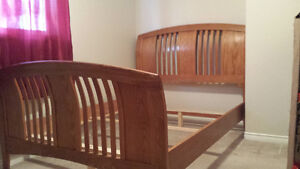 New leather Double Bedframe