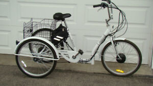 ELECTRIC TRICYCLE - $600.00
