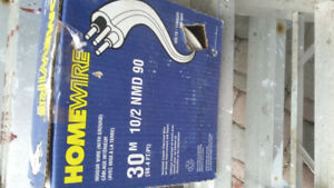box  of electrical house  wire