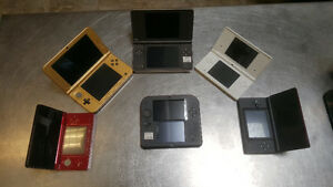 All Nintendo DS's And DS Games