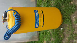 Powerfist 12 gallon upright portable air tank in new condition