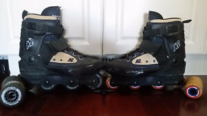 K2 Backyard Bob's Inline Skates 9US