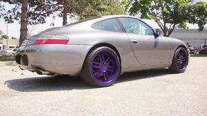 """19""""VOSSEN rims+ 235/35/R19 & 295/30/R19 Pirelli Snows–Porsche911"""