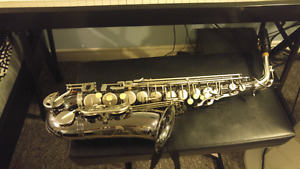 Intermediate P. Mauriat Special Edition Nickel Plated Alto Sax