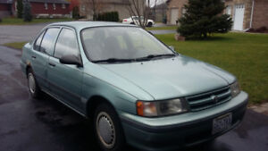 Toyota Tercel 1994 running condition on sale $500