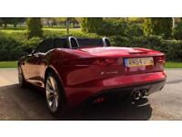 2014 Jaguar F-TYPE 3.0 Supercharged V6 S 2dr Automatic Petrol Convertible