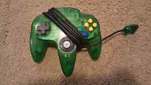 Jungle Green N64 Controller
