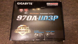 Brand New Gigabyte AM3/AM3+ Motherboard