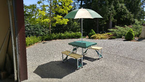 Camping Table and Spring Floats