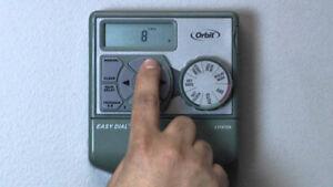 sprinkler timer system