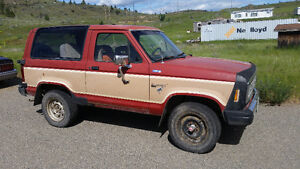 1984 Ford Bronco II SUV, Crossover