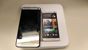 Mint HTC one 7 beats audio rogrs chatr and fido