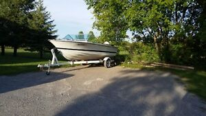 Boat Motor and Trailer for Sale Peterborough Peterborough Area image 1