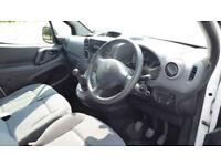 2014 Peugeot Partner 1.6HDi 75ps 625 SE L1 White Diesel Van NO VAT