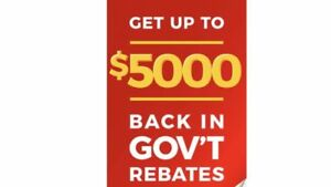 NEW FURNACE AND A/C - 0 DOWN - UP TO $5000 BACK IN GOV REBATES!