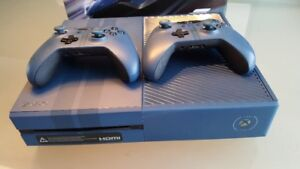 Xbox one Forza limited edition, 2 manettes Forza, Boite