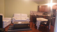 Furnished 2 Bedrooms Legal basement suites