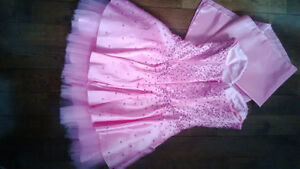 prom dress pink sz 6  32 to 34b