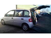 2007 Fiat Multipla Up Front Disabled Wheelchair Passenger Vehicle Car