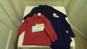 3 boys new tops size 3/6 months