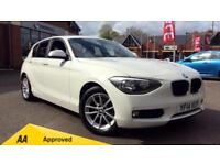2014 BMW 1 Series 116d EfficientDynamics Busines Manual Diesel Hatchback