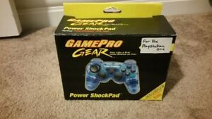 Brand New GAMEPRO PS1 Controller Power Shockpad. Super Rare!!