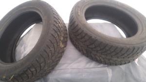 2 pneu d 'hiver 16 p