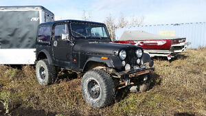 1982 Jeep CJ SUV, Crossover