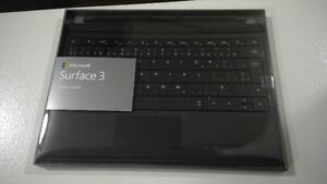 BNIB - Microsoft Surface 3 Type Cover - French Black