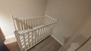Baby Crib with Matress rarely used