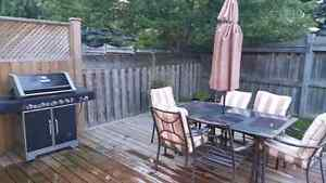 BBQ and Patio Set  ($150 OBO)