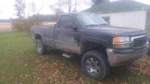 Gmc sierra for parts